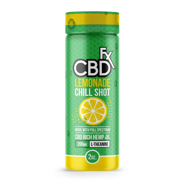 CBDFX Lemonade Chill Shot 2oz 20mg-CBD Tinctures-fourseasons-trade