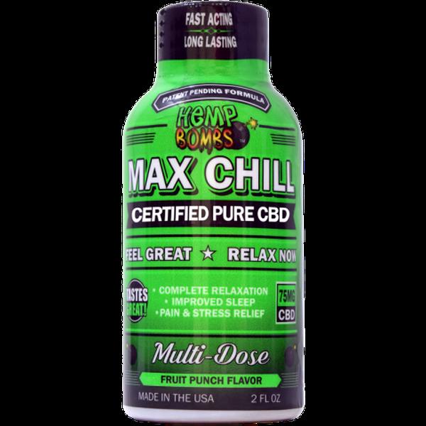 Hemp Bombs CBD Max Chill Relaxation Shot
