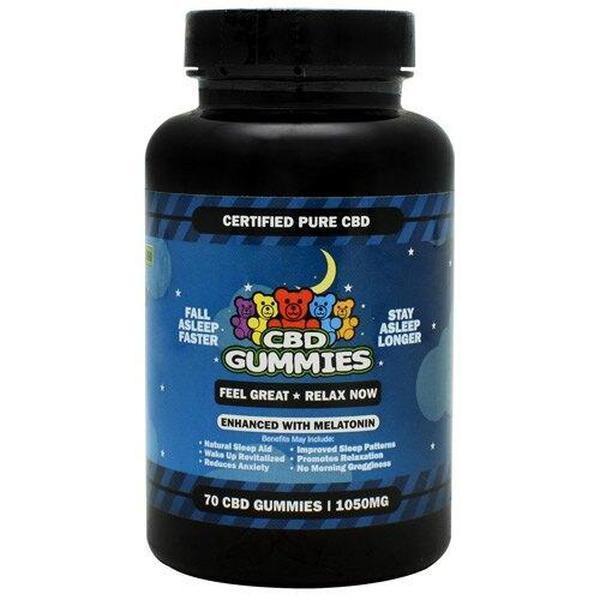 HEMP BOMB CBD MELATONIN SLEEP GUMMIES-CBD Gummies-fourseasons-trade