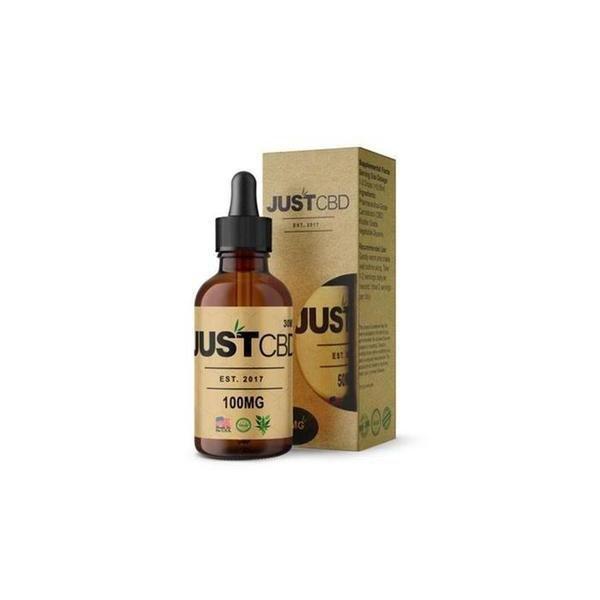 JUST CBD Hemp Seed Oil with Honey Liquid Tincture-CBD Tinctures-fourseasons-trade