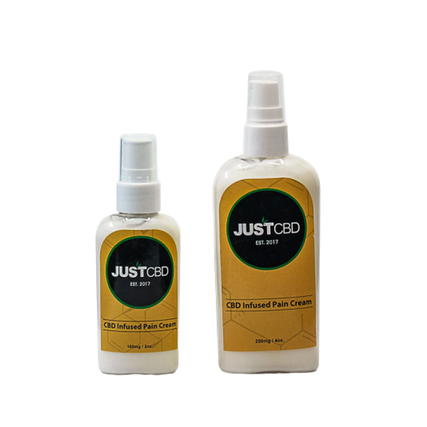 JUST CBD Infused Pain Cream Muscle and Joint Cream-CBD Topicals-fourseasons-trade