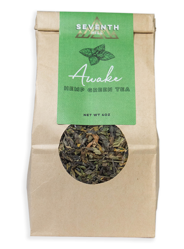 Seventh Hill Hemp Green Tea 4oz