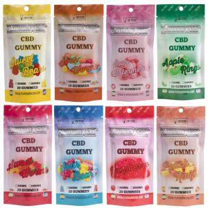 PLATINUM X CBD GUMMIES 1000mg - 20 Gummies in Pack